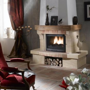 rustique gaiet du feu chemin es et po les 66 perpignan. Black Bedroom Furniture Sets. Home Design Ideas